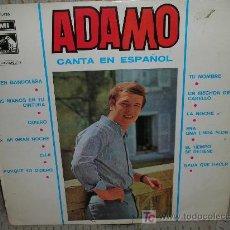 Discos de vinilo: ADAMO-CANTA EN ESPAÑOL-ORIGINAL 1966-EMI.. Lote 27596235