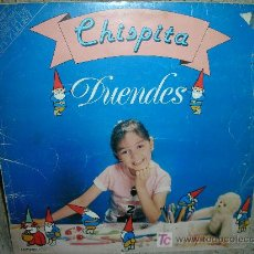Discos de vinilo: CHISPITA-DUENDES LP-ORIGINAL ESPAÑOL 1983. Lote 27596297