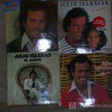 Discos de vinilo: JULIO IGESIAS 4 LP´S-ORIGINALES. Lote 26981942