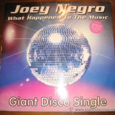 Discos de vinilo: JOEY NEGRO - MAXI SINGLE. Lote 13146897