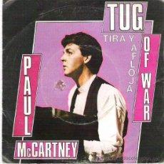 Discos de vinilo: PAUL MCCARNEY - TIRA Y AFLOJA *** EMI ODEON 1982. Lote 13152368