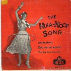 Discos de vinilo: TITO PORTILLO -THE HULA - HOOP SONG ** EP DECCA 1958 DIFICIL. Lote 13153835