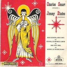 Discos de vinilo: CHARLES SMART (ORGANO) & JIMMY BLANES (CAMPANAS) - DECCA EP 1963 RARO. Lote 17398467