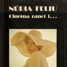 Discos de vinilo: LP NURIA FELIU - CINEMA RANCI - CANTA EN CATALAN CANCIONES DE PELICULAS. Lote 23433479