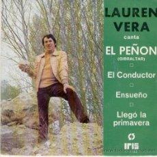 Discos de vinilo: LAUREN VERA - EL PEÑON - EP . Lote 26343572