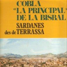 Discos de vinilo: LP SARDANES: COBLA LA PRINCIPAL DE LA BISBAL - SARDANES DES DE TERRASSA. Lote 13165300