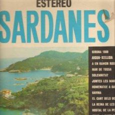 Discos de vinilo: LP SARDANES COBLA LA PRINCIPAL DE LA BISBAL - SARDANES 3. Lote 14055575