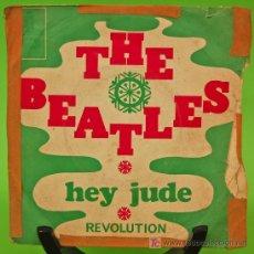 Discos de vinilo: SINGLE EDITADO EN FRANCIA THE BEATLES. HEY JUDE/REVOLUTION EMI ODEON. Lote 26972275