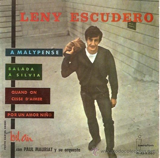 LENY ESCUDERO EP SELLO IBEROFON AÑO 1963 (Música - Discos de Vinilo - EPs - Canción Francesa e Italiana)