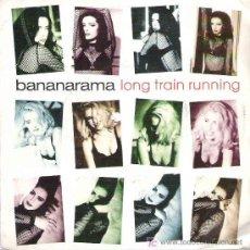Discos de vinilo: BANANARAMA - LONG TRAIN RUNNING *** PROMOCIONAL 1991 LONDON RECORDS. Lote 13186089