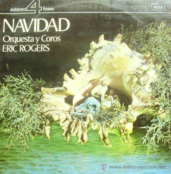 ERIC ROGERS ORQUESTA Y COROS-NAVIDAD LP VINILO 1964 SPAIN (Música - Discos - LP Vinilo - Orquestas)