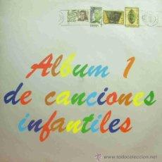 Discos de vinilo: INFANTIL ALBUM DE CANCIONES INFANTILES 1-MAMBRU SE FUE A LA GUERRA + YA SE MURIO EL BURRO +. Lote 194392003