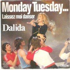 Discos de vinilo: DALIDA - MONDAY TUESDAY ... *** CARRERE 1979. Lote 13213188
