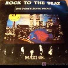 Discos de vinilo: ONE O ONE ( ROCK TO THE BEAT ) 12 INCH MAXI 1989 USA. Lote 23684195