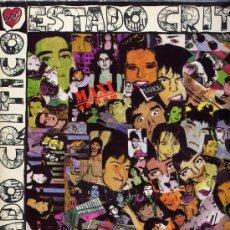 Discos de vinilo: ESTADO CRITICO. MAXI 12 A 45 RPM. REGGAE RAP+IDEM INSTRUMENTAL. POLYDOR AÑO 1991. Lote 26676535