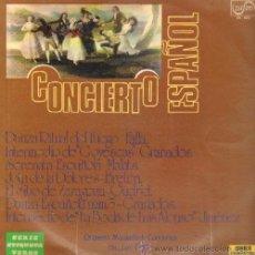 Discos de vinilo: CONCIERTO ESPAÑOL FALLA / GRANADOS…. D-CLASICA-475. Lote 13209382