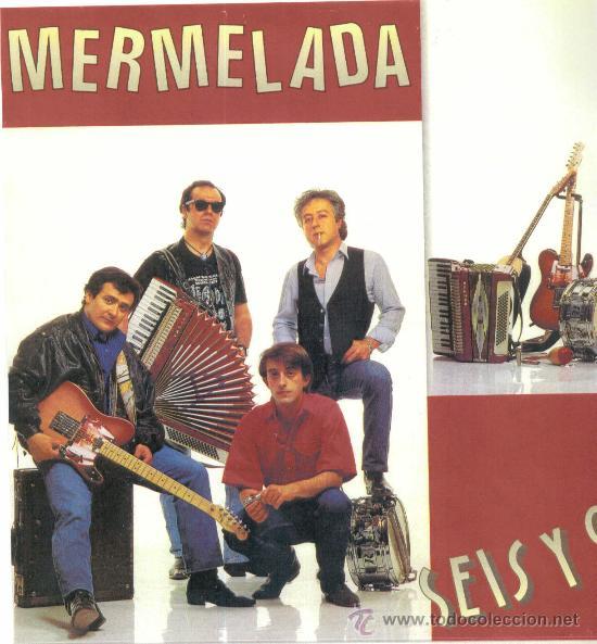 MERMELADA. SEIS Y 9 (CARPETA CON HOJAS PROMOCIONALES Y FOTO) (VINILO LP 1990) (Música - Discos - LP Vinilo - Grupos Españoles de los 70 y 80)