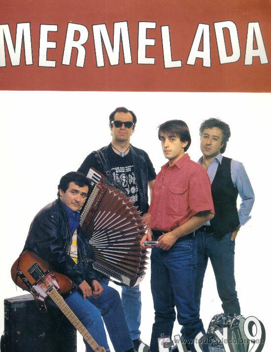 Discos de vinilo: MERMELADA. Seis y 9 (Carpeta con hojas promocionales y foto) (vinilo Lp 1990) - Foto 3 - 13226893