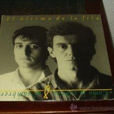 Discos de vinilo: EL ULTIMO DE LA FILA LP COMO LA CABEZA AL SOMBRERO. Lote 20345368
