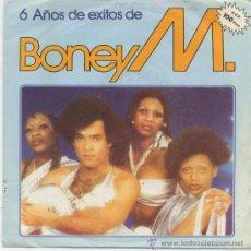 Dischi in vinile: BONEY M,6 AÑOS DE EXITOS MIX DEL 82. Lote 13237975