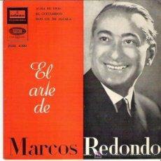 Discos de vinilo: EL ARTE DE MARCOS REDONDO - ALMA DE DIOS ** EMI ODEON 1960 EP. Lote 13240583