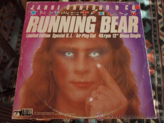 JANNE ONNERUD & CO. ( RUNNING BEAR - DO NOT PLAY THIS SIDE ) 'LIMITED EDITION SPECIAL D.J.' 1979 (Música - Discos de Vinilo - Maxi Singles - Disco y Dance)