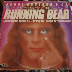 Discos de vinilo: JANNE ONNERUD & CO. ( RUNNING BEAR - DO NOT PLAY THIS SIDE ) 'LIMITED EDITION SPECIAL D.J.' 1979. Lote 13244617