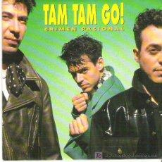 Discos de vinilo: TAM TAM GO! CRIMEN PASIONAL / JENNIFER BONES*** PROMOCIONAL ** EMI 1991. Lote 13246003