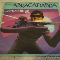 Discos de vinilo: THE STEVE MILLER BAND ( ABRACADABRA - NEVER SAY NO ) 1982-GERMANY SINGLE45 MERCURY. Lote 13256885