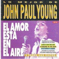 Discos de vinilo: JOHN PAUL YOUNG - EL AMOR ESTA EN EL AIRE / YESTERDAY`S HERO *** 1993 PROMOCIONAL DIVUCSA. Lote 13258766