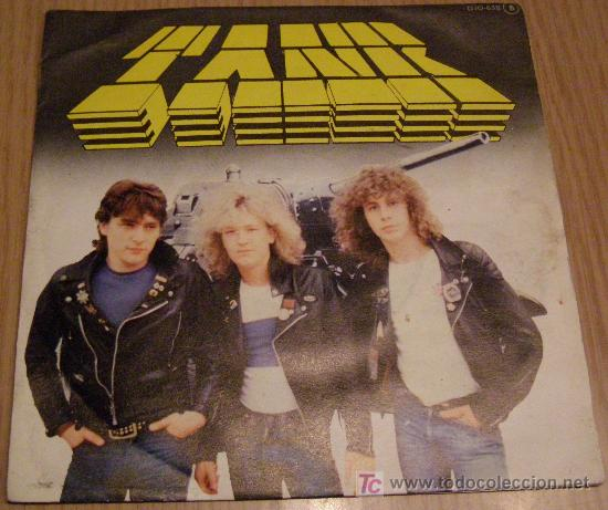TANKDON'T WALK AWAY- SHELL SHOCK (Música - Discos - Singles Vinilo - Heavy - Metal)