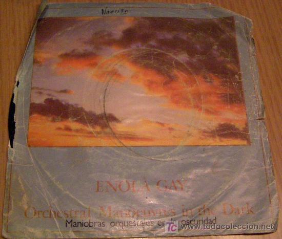 ENOLA GAYMANIOBRAS ORQUESTRALES EN LA OSCURIDAD- THE MORE I SEE YOU (Música - Discos - Singles Vinilo - Otros estilos)