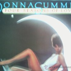Discos de vinilo: DONNA SUMMER,FOUR SEASONS OF LOVE EDICION DEL 77. Lote 211271237