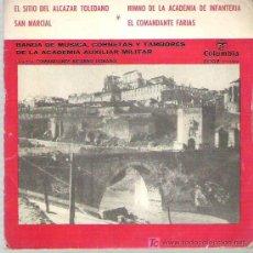 Discos de vinilo: MARCHAS E HIMNOS - EL SITIO DEL ALCAZAR TOLEDANO * COLUMBIA EP 1959. Lote 13350072