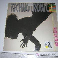 Discos de vinilo: DISCO LP --- TECHNOTRONIC - PUMP UP THE JAM --- 1989 . Lote 27286118