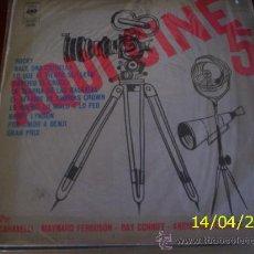 Discos de vinilo: LP DE ARTISTAS VARIOS AQUÍ CINE VOLUMEN 5 AÑO 1977. Lote 26851702