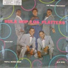 Discos de vinilo: THE PLATTERS - HULA HOP - EP ESPAÑOL DE 1959. Lote 17556817