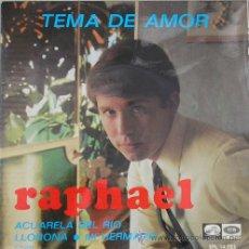 RAPHAEL - TEMA DE AMOR - EP DE 1967