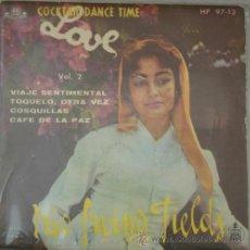 Discos de vinilo: TRIO IRVING FIELDS - COCKTAIL DANCE TIME AMOR VOL.2 - EP DE 1959. Lote 13364463