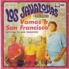 Discos de vinilo: LOS JAVALOYAS - VAMOS A SAN FRANCISCO *** EMI ODEON 1967. Lote 19530590