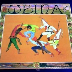 Discos de vinilo: UBIÑA - UBIÑA - LP (FONOASTUR, 1988) - INCLUYE ENCARTE CON LAS LETRAS - FOLK ASTURIANO Y CELTA. Lote 27157647