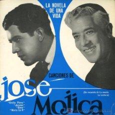Discos de vinilo: JOSÉ MOJICA - CANCIONES DE LA NOVELA DE UNA VIDA - EP 1966 - PORTADA DOBLE. Lote 13371551