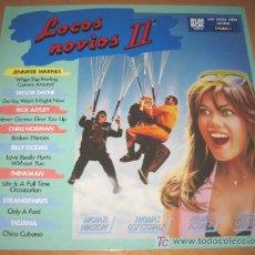 Discos de vinilo: BSO - LOCOS NOVIOS II - LP ARIOLA 1988 - JENNIFER WARNES / TAYLOR DAYNE / RICK ASTLEY / BILLY OCEAN. Lote 20980127