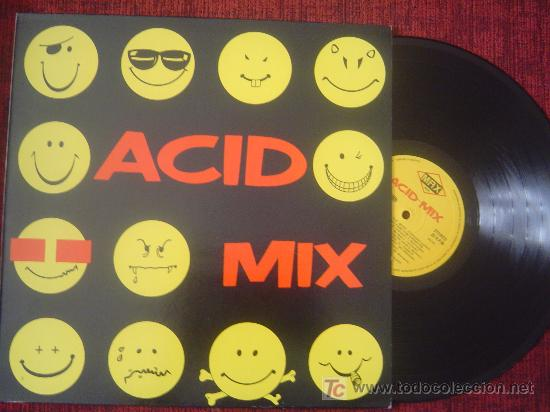 ACID MIX - MAX MUSIC (Música - Discos - LP Vinilo - Disco y Dance)