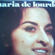 Discos de vinilo: MARIA DE LOURDES,LA VOZ DEL SENTIMIENTO DEL 73. Lote 13377771