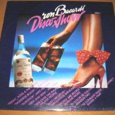 Discos de vinilo - RON BACARDI - DISCO SHOW - LP - DEPECHE MODE / AZUL Y NEGRO / AVIADOR DRO / VILLAGE PEOPLE - N MINT - 25086118