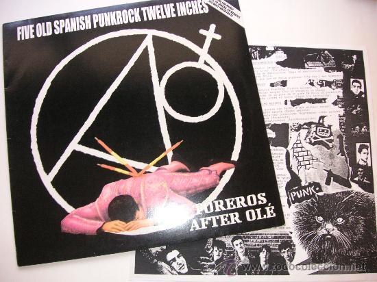SPANISH PUNK COMPILATION - ESPASMODICOS + ULTIMO RESORTE +LARSEN + BROMA SATAN +TOREROS AFTER OLE (Música - Discos - LP Vinilo - Grupos Españoles de los 90 a la actualidad)