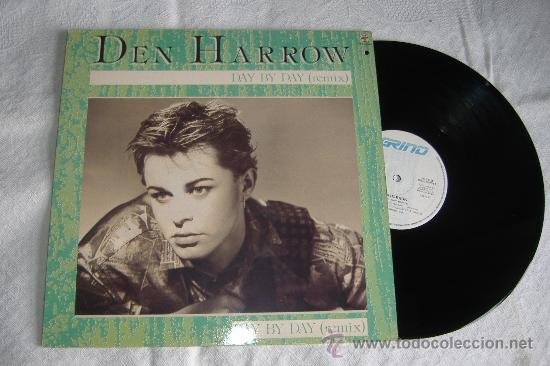 DEN HARROW, DAY BY DAY (REMIX) (Música - Discos de Vinilo - Maxi Singles - Pop - Rock - New Wave Internacional de los 80)