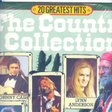 Discos de vinilo: THE COUNTRY COLLECTIONS - 20 TEMAS.HOLANDES - LYNN ANDERSON ,JOHNNY CASH ,WILLIE NELSON ETC.. Lote 25641763