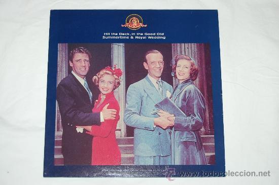 HIT THE DECK - IN THE GOOD OLD SUMMERTIME - ROYAL WEDDING - BODAS REALES - NUEVO (Música - Discos - LP Vinilo - Bandas Sonoras y Música de Actores )